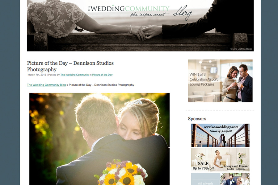 Award winning wedding photographer Horsham